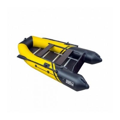 Надувная лодка Пеликан 295ТК RIVER (желтый/черный)