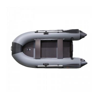 Надувная лодка Пеликан 320ТК RIVER (красный/чёрный)