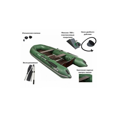 Надувная лодка Пеликан 330ТК