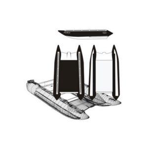 Надувной катамаран Badger FC 410 Black&White