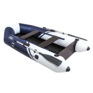 Надувная лодка Пеликан 270Т RIVER (синий/белый)