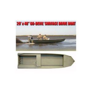 """Лодка Surface Drive 20'x48SD"""""""