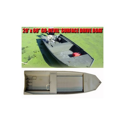 """Лодка Surface Drive 20'x60SD"""""""