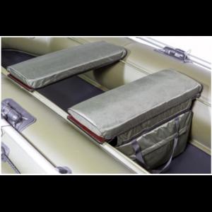 Накладки на сиденья лодки (сумка+2 накладки)